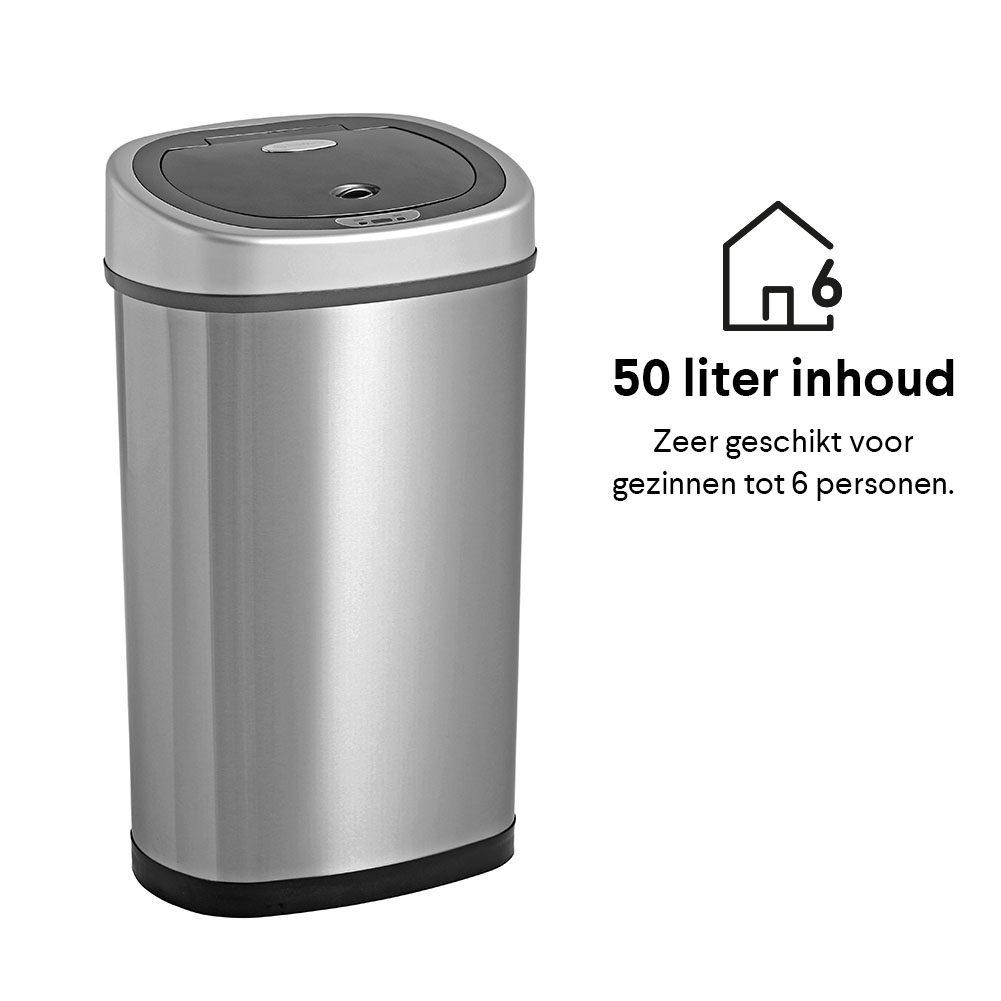 Homra Sensor Prullenbak Fonix 50 Liter