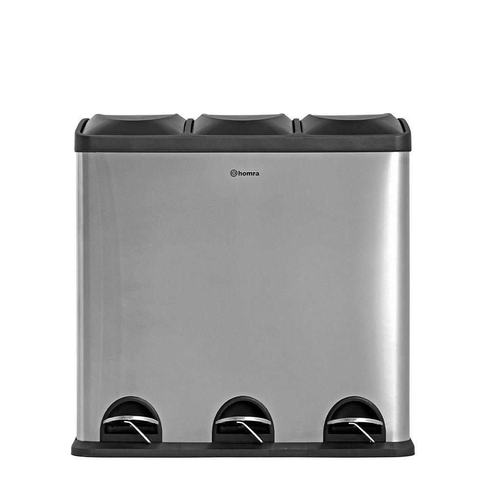 Maxer 60 liter 3 vakken – RVS