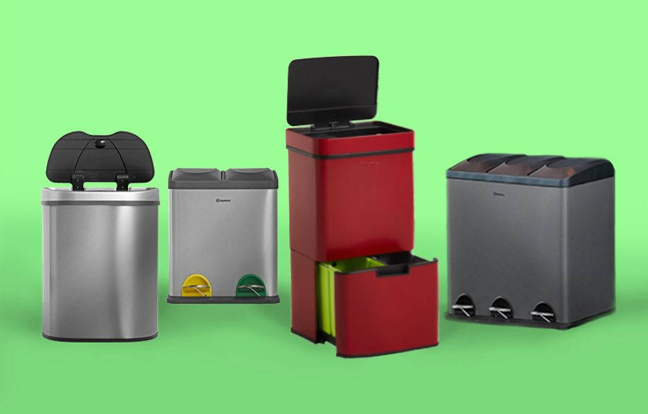 Homra Afvalscheiding Prullenbakken